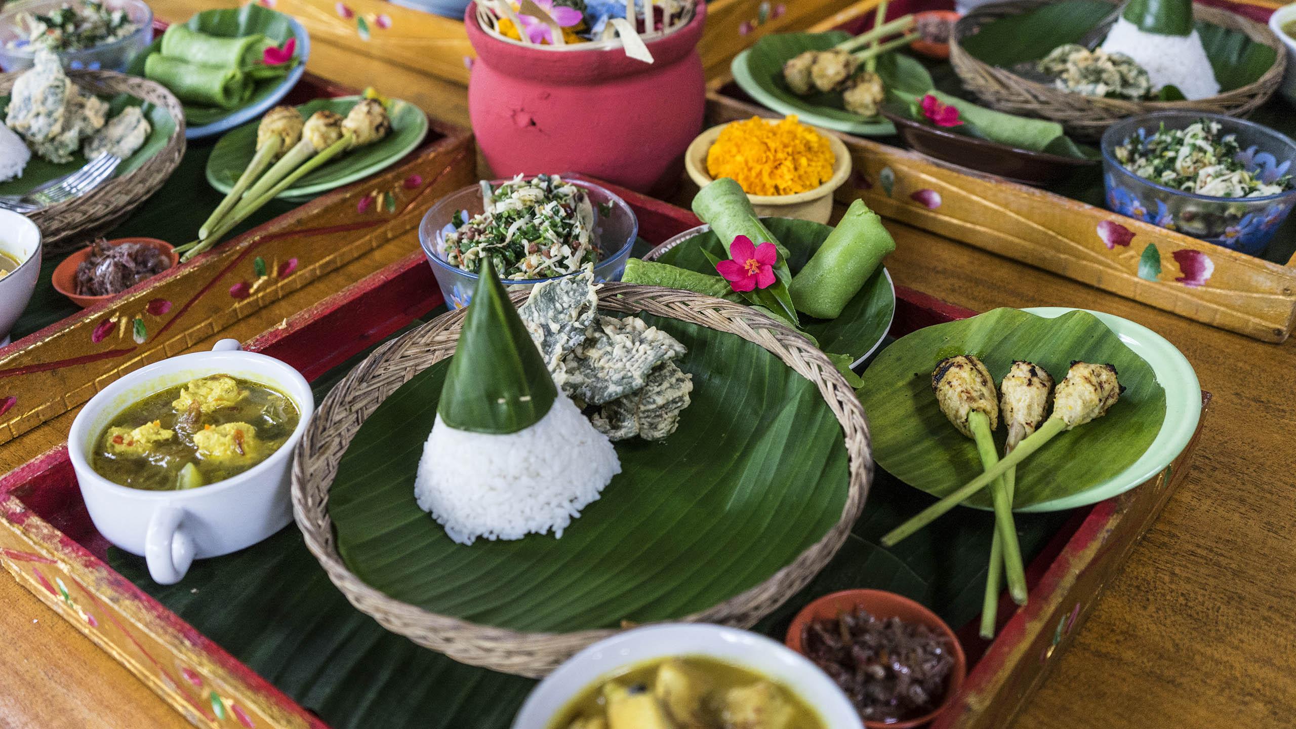 Mandara cours de cuisine bali éco-tourisme indonésie