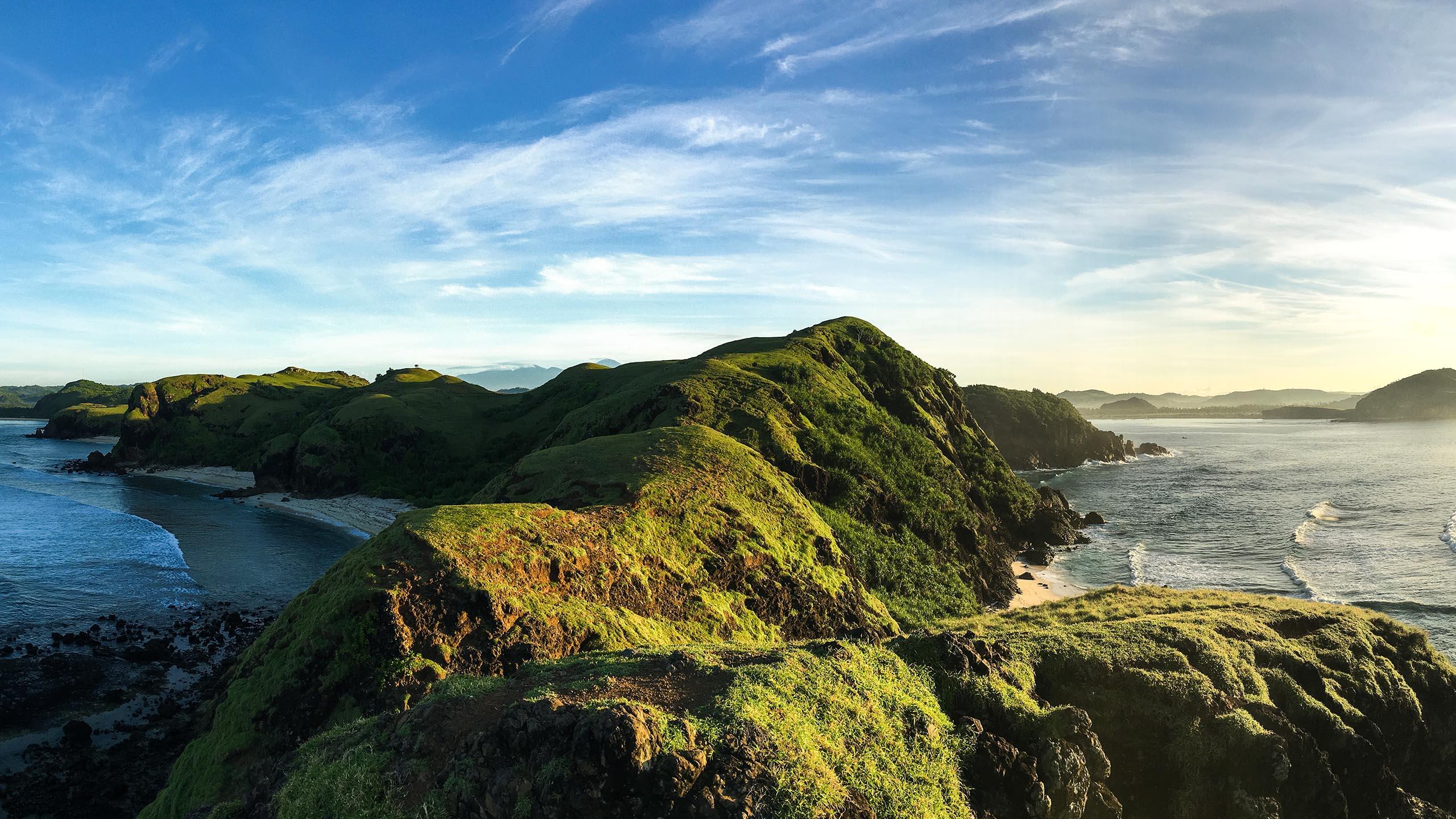 Mandara plage éco-tourisme indonésie