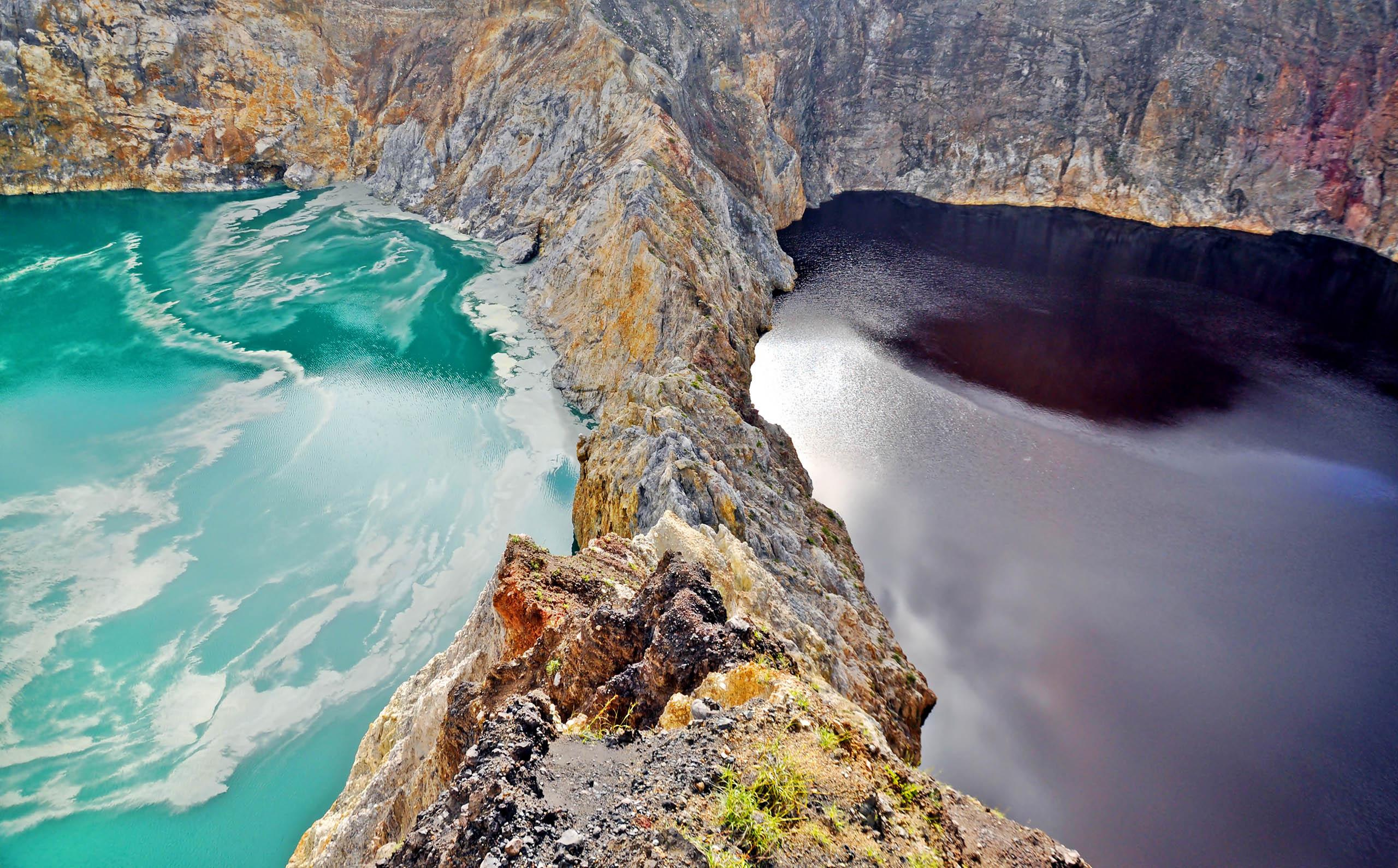Mandara kelimutu éco-tourisme indonésie